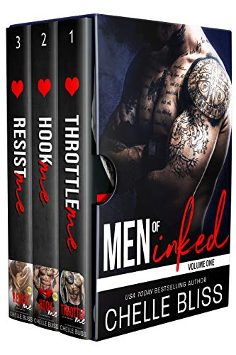 """""""One of the hottest books of all-time!"""" -Bookbub ReviewersJoin the Gallo siblings as their lives are forever turned upside down by irresistible passion and unexpected love. The box set contains three full-length novels--Throttle Me, Hook Me, and Resi..."""