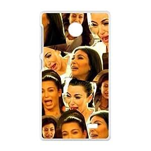 SANYISAN kim kardashian crying Phone Case for Nokia Lumia X Case