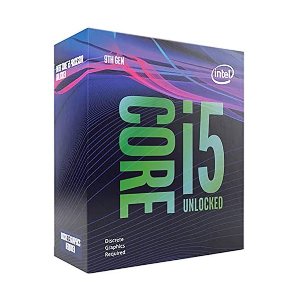 Intel Core i5-9600KF Desktop Processor 6 Cores up to 4.6 GHz Turbo Unlocked Without Processor Graphics LGA1151 300…