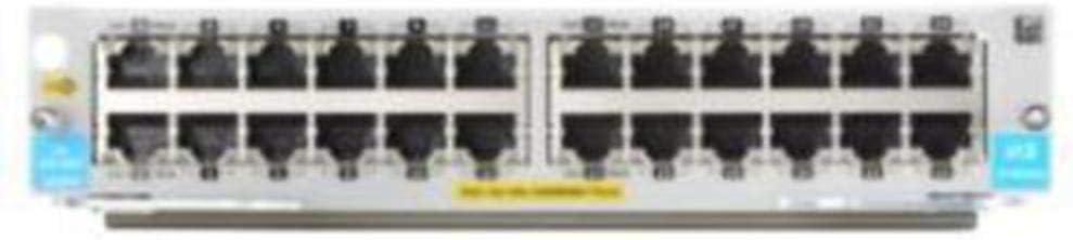HP J9986A 5400R 24-Port 10/100/1000BASE-T PoE+ with MACsec v3 zl2 Module