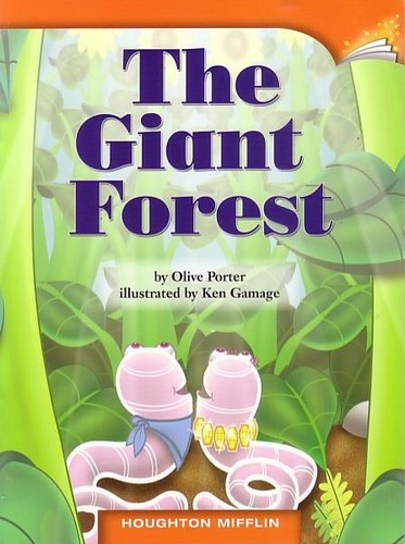 THE GIANT FOREST, HOUGHTON MIFFLIN (GRADE 2, LEVEL H, DRA 14) PAPERBACK pdf