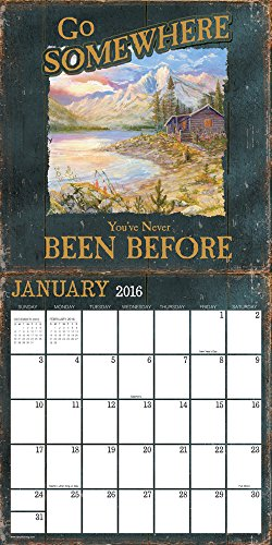 2016 Rustic Retreat Wall Calendar