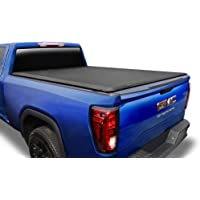 Tyger Auto T1 Soft Roll Up Truck Bed Tonneau Cover for 2004-2007 Chevy Silverado / GMC Sierra 1500  2007 Classic ONLY  Fleetside 5.8' Bed  TG-BC1C9008