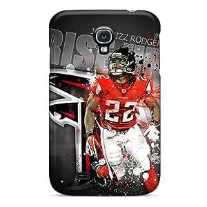 Galaxy S4 Case Cover Skin : Premium High Quality Atlanta Falcons Official Thread Case
