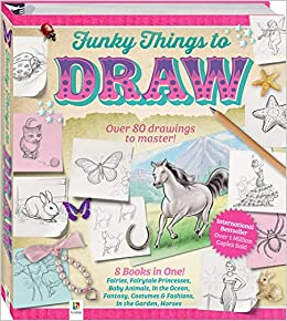 book draw funky to things