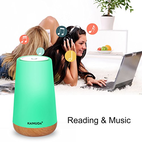 Kainuoa Touch Control Table Lamp, Led Smart With Bluetooth Speaker Control Night Light And Dimmable Color Control LED Light Bedside Lamp For Women, Teens, Kids, Children, Sleeping Aid by Kainuoa (Image #5)