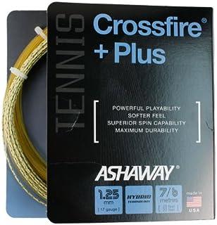Ashaway Crossfire | Plus 1.25/17G tennis string | ACPLUSS125: set