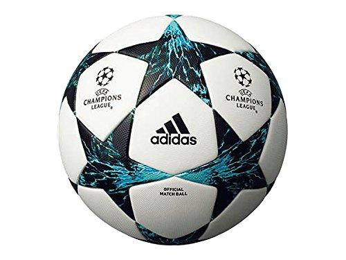 フィナーレ 17-18 公式試合球 5号球 ホワイト×ブルー 5号球 B07F64GP3R