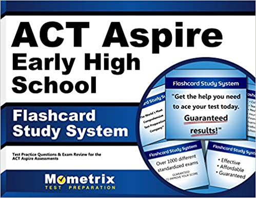Act aspire early high school flashcard study system act aspire test act aspire early high school flashcard study system act aspire test practice questions exam review for the act aspire assessments cards flc crds fandeluxe Images