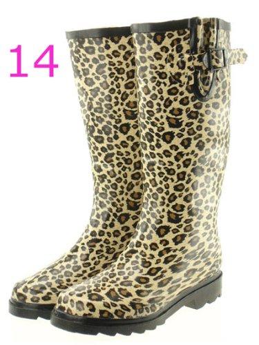 purchase cheap 37cf2 1ee08 Moderne Damenstiefel, Fashion Gummistiefel, Regenstiefel, Flora und Fauna  (GST2)