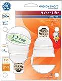 GE Lighting 49687 Energy Smart CFL 11-Watt