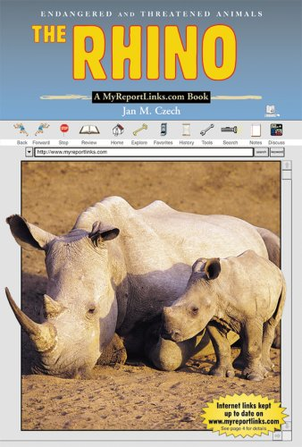 The Rhino: A MyReportLinks.com book (Endangered and Threatened Animals)