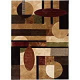 Cheap Home Dynamix Tribeca Jasmine 5'2″ x7'2 Area Rug in Multi