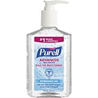 PURELL Instant Hand Sanitizer, 8-oz. Pump Bottle by Purell [並行輸入品]
