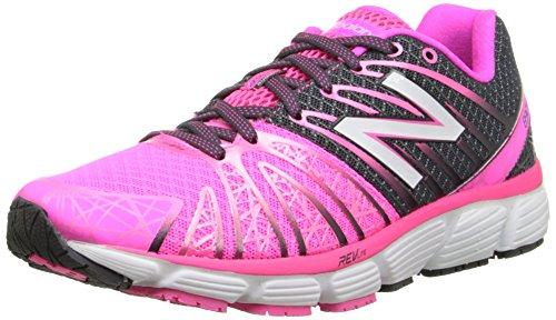 New Balance Women's W890V5 Neutral Running Shoe, Pink/White, 8.5 B US
