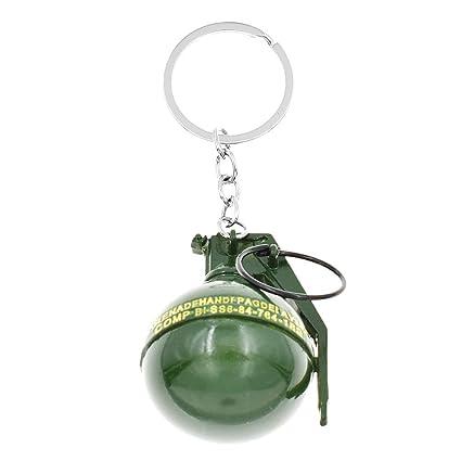 Hongma - Llavero Verde Verde 4 cm: Amazon.es: Equipaje