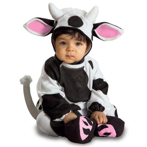 Rubie's Costume EZ-On Romper Costume, Cozy Cow, 6-12 Months -