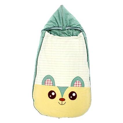 Wovemster Saco de Dormir para bebé Babyschlafsack Unisex Winter Warm Sillas de Dormir extraíbles con Cremallera