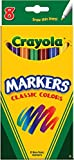 Crayola Thin Classic Fine Markers 8 Count ( Case of 24 )Total 192