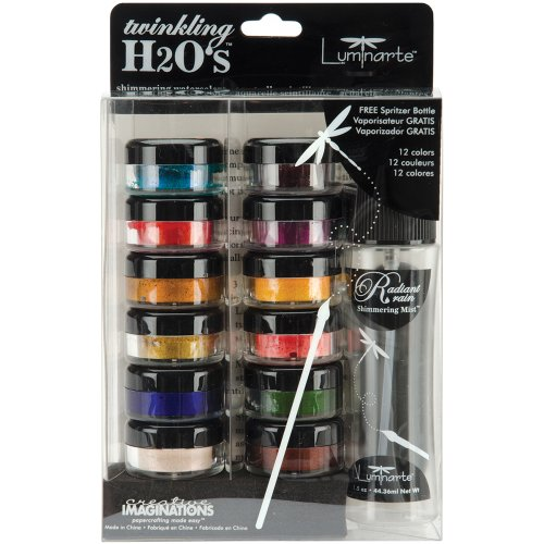 Creative Imaginations Twinkling H2O's Ultimate Kit, - Blue Pearl Meridian