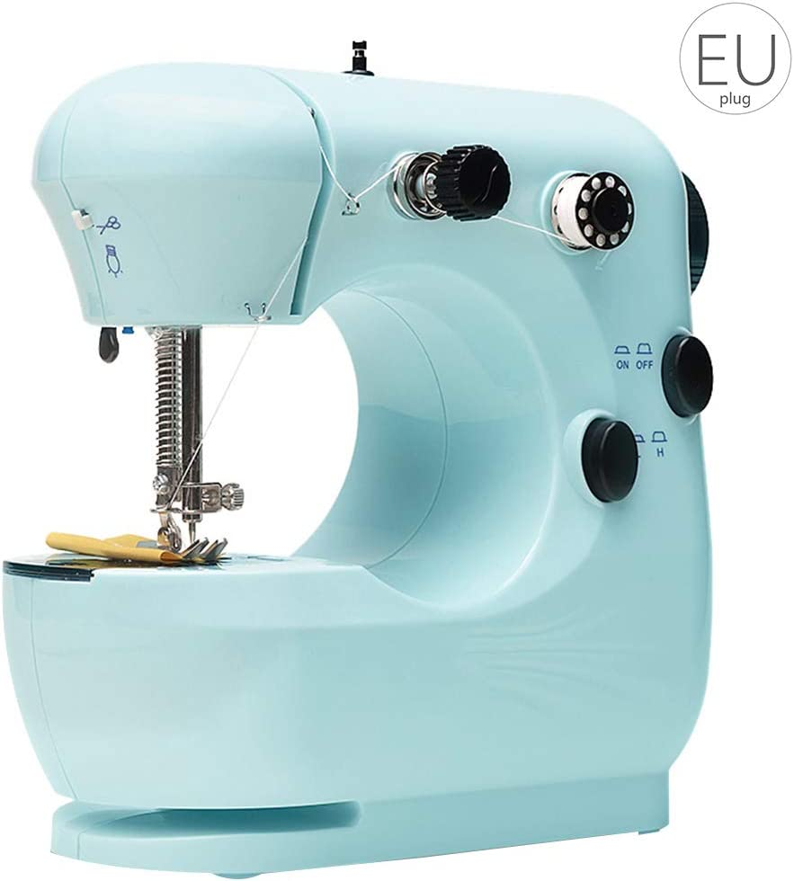 Busirde Mini máquina de Coser eléctrica Portable de la máquina de ...