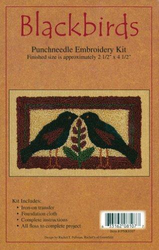 Jo-Ann Stores Blackbirds Punch Needle Kit