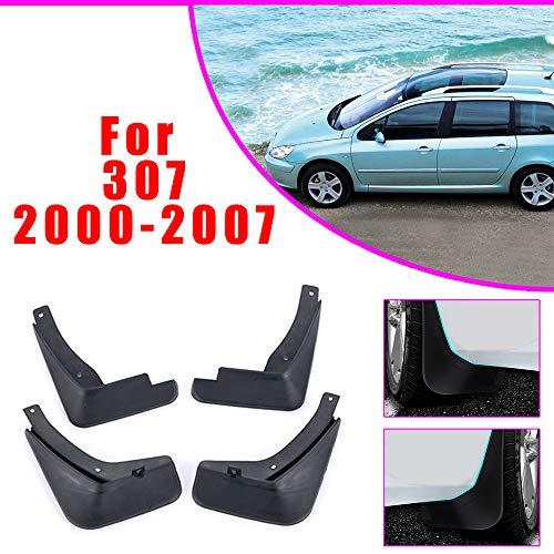 Rubber Moulded Universal Fit Car MUDFLAPS Mud Flaps Fits Peugeot 307 CC 307 SW