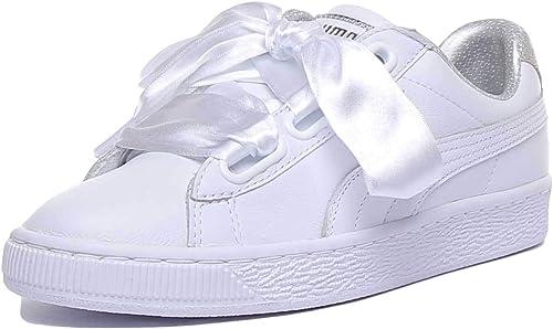 puma scarpe donna argento e nere