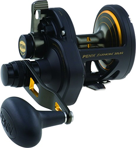 2spd 2 Speed Lever Drag - Penn Fathom FTH60LD2 Lever Drag 2-Speed Reel