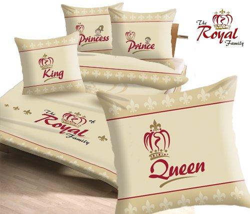 The Royal Family 9558 1 Original Bettwäsche 2 Teilig Queen