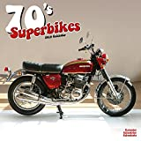 70 s Superbikes Calendar - Calendars 2018 - 2019 - Motorcycle Calendar - 16 Month Wall Calendar by Avonside