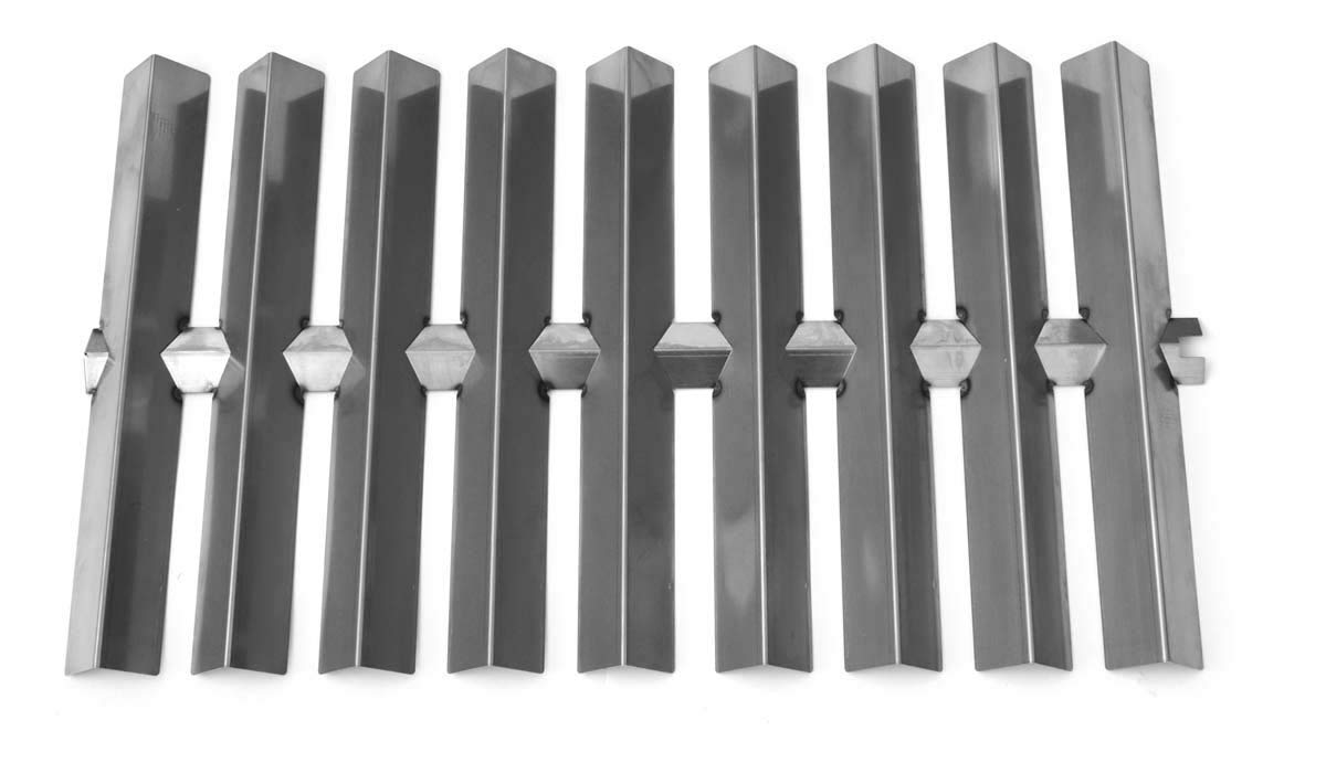 bbqGrillParts Stainless Heat Shields for 5820001, 7710001, 7720001, 7810001, 7820001, Summit Gold A4, Summit Weber Gas Models