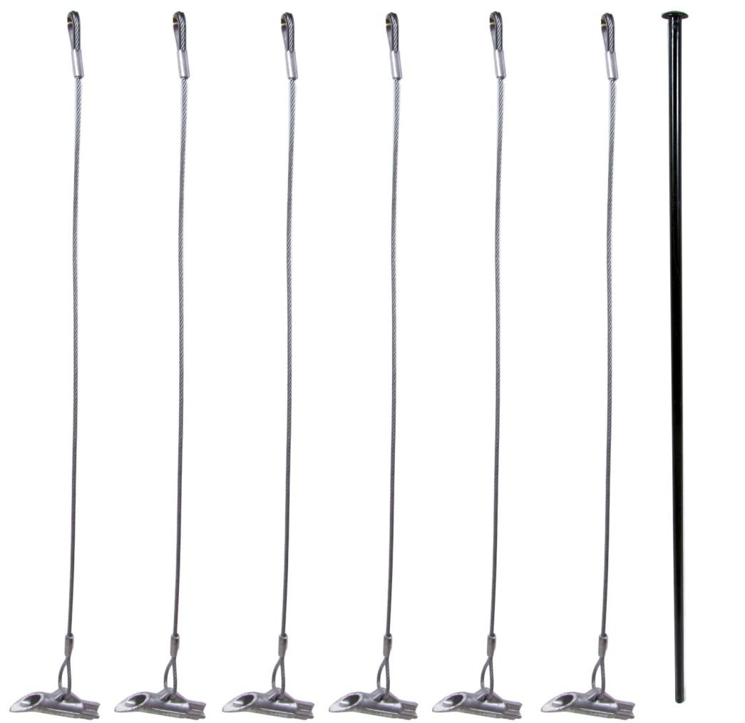 Pack of 6 - Duckbill 88-DB1 Earth Anchor - Includes 1 Drive Steel Tool