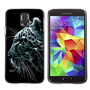 Designer Depo Hard Protection Case for Samsung Galaxy S5 / Majestic Snow Leopard Painting