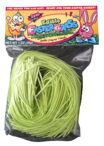 Edible Grass (Edible Easter Grass From Germany - 1 Oz Bags (Pack of 3))