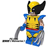 X-Men Apocalypse Minifigures Storm Wolverine Daken Archangle Magneto Angel Nightcrawler Bricks Kid Toys Gift