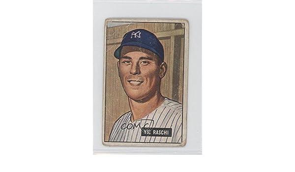 Amazon Vic Raschi Baseball Card 1951 Bowman