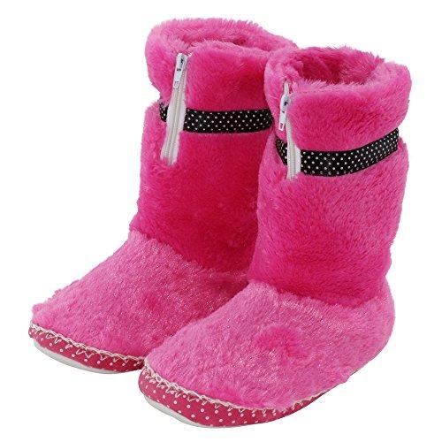 brandsseller - Zapatillas de estar por casa de Material Sintético para mujer Rosa