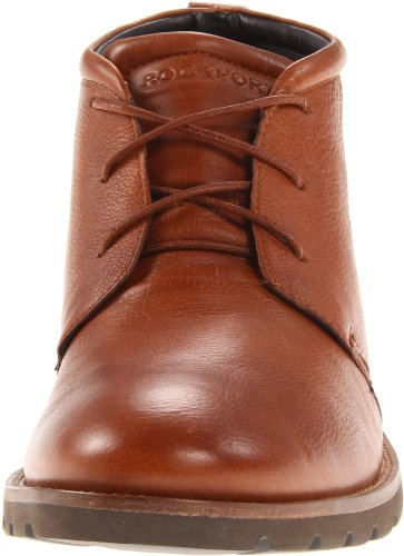 Boot Men's Tan Chukka Dark Lace Charson Rockport Up qBnFpwU