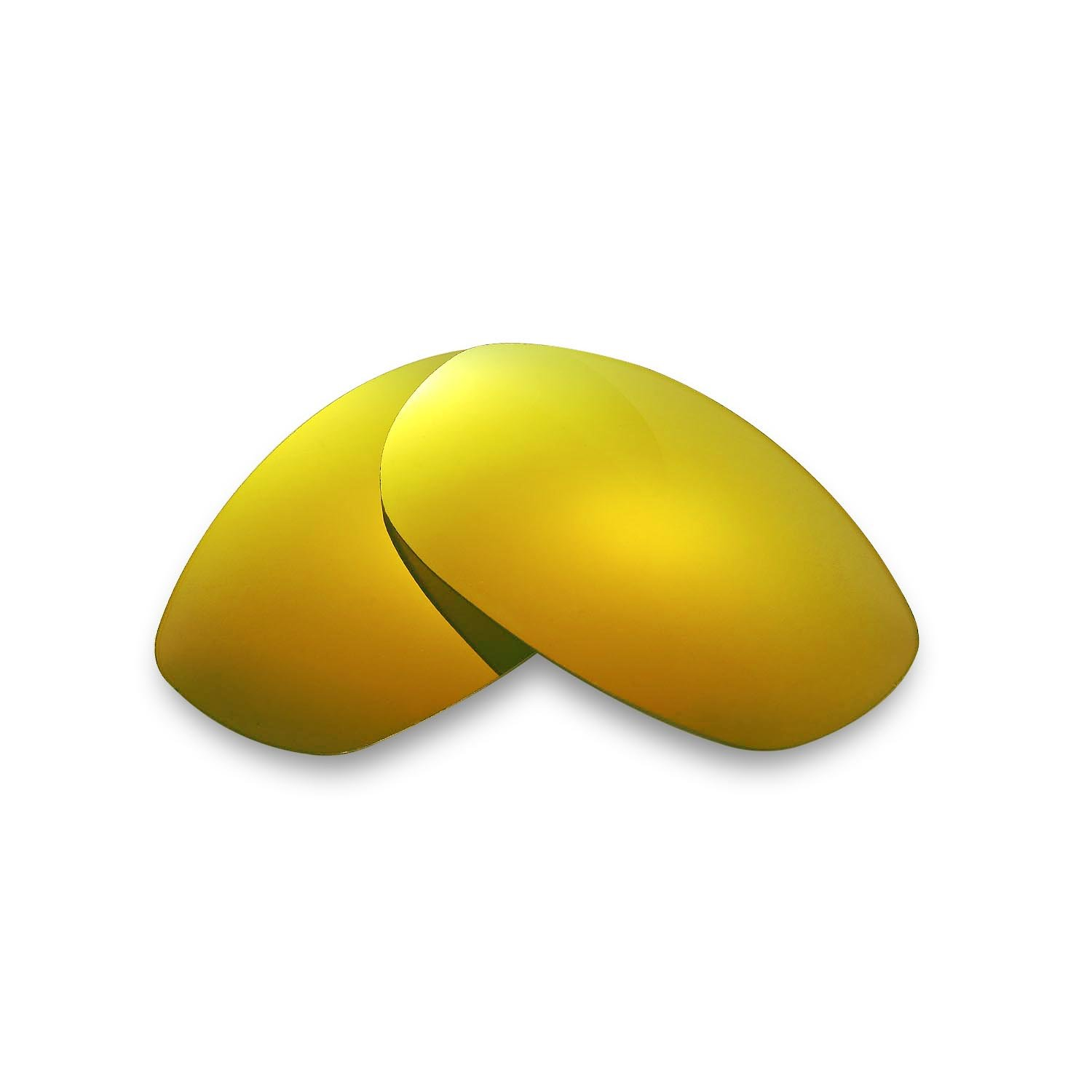 cfba4c9d3ee4a Amazon.com  Walleva Replacement Lenses for Oakley Tightrope Sunglasses-9  Options Available (24K Gold - Polarized)  Sports   Outdoors