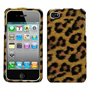 Cerhinu MYBAT IPHONE4HPCIM206NP Slim and Stylish Protective Case for iPhone 4 - 1 Pack - Retail Packaging - Leopard Skin...