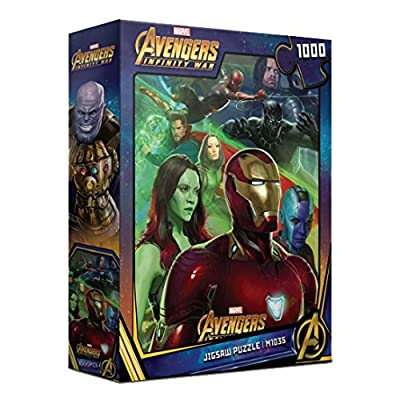 1000Piece Jigsaw Puzzle Marvel Avengers Infinity War II: Toys & Games