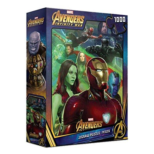 超高品質で人気の 1000pieceジグソーパズルMarvel B07CNP2QSY Avengers War II infinity War II B07CNP2QSY, キタグンマグン:f6beb442 --- a0267596.xsph.ru