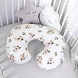 TILLYOU Large Zipper Nursing Pillow Cover, Luxury