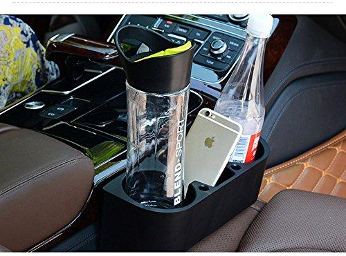 salvaspazio portabicchieri per auto console centrale anteriore bello. organizer per portabicchieri laterale sedile automatico Portabicchieri universale per portabottiglie per auto con tre fori