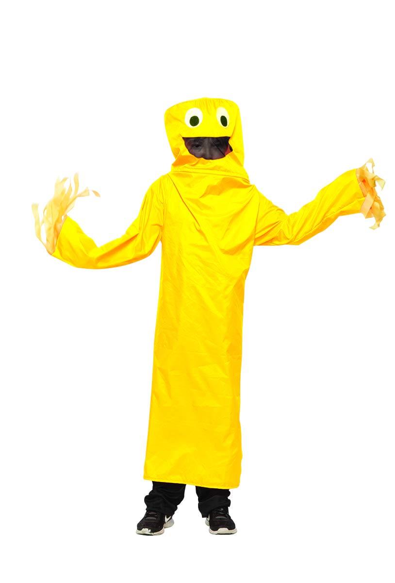 Large XLarge Seeing Red Wacky Waving Tube Guy Adult Costume  Yellow  Large XLarge