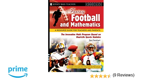 Amazon.com: Fantasy Football and Mathematics: A Resource Guide for ...