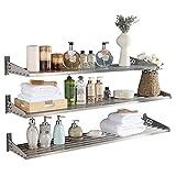 Micoe DIY Wall shelf Shelf 304 Stainless Steel Spice Rack Wall Mount Single Tier (1 piece)