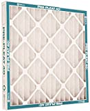 FLANDERS VP MERV 8 STANDARD-CAPACITY EXTENDED SURFACE PLEATED AIR FILTER, 14X24X1 IN., 12 PER CASE