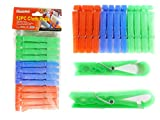 12 PC Clothespins with Hanging Clip , Case of 96